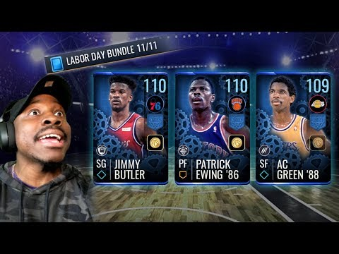 LABOR DAY PACK OPENING & SETS! NBA Live Mobile 19 Season 3 Ep. 147