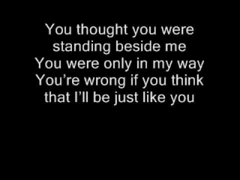 Three Days Grace Just Like You Lyrics - YouTube
