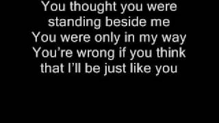Three Days Grace Just Like You Lyrics