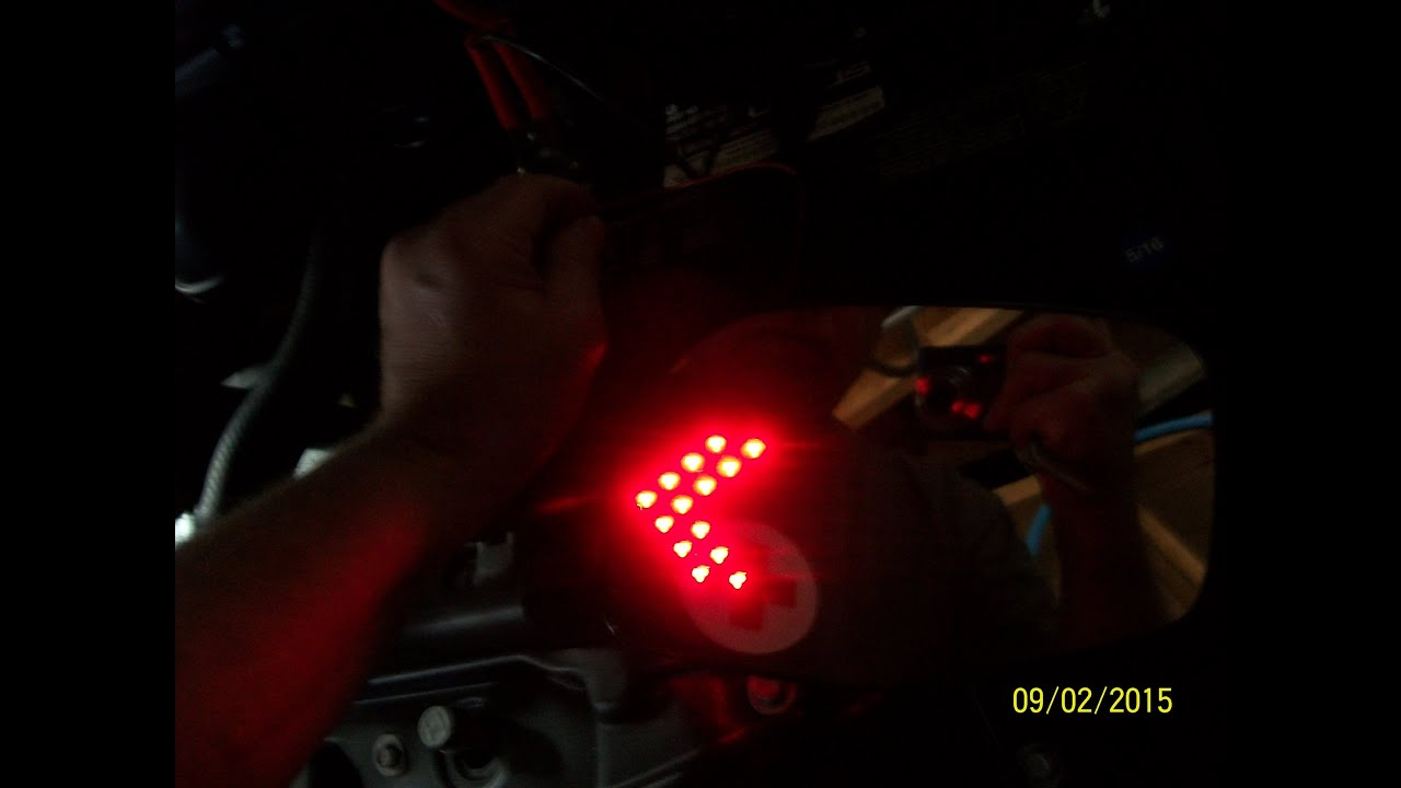 How To Install Mirror Led Turn Signals On A Ford Ranger Or Mazda B 2011 F250 Signal Wiring Diagram Series Pickup