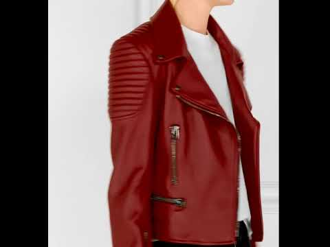 Женская Кожаная Куртка с Алиэкспресс / Women's Leather Jacket with .