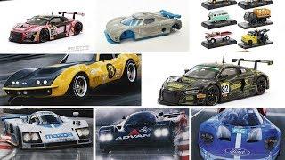 Hot Wheels Circuit Legends Final Packaging, 1/43 scale Tarmac Works, M2 Machines Auto-Trucks
