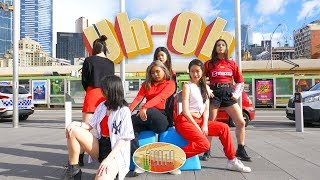 [KPOP IN PUBLIC]  (G)I-DLE((여자)아이들) _ Uh-Oh DANCE BREAK VER + BLINDFOLD CHALLENGE by O4A AUSTRALIA