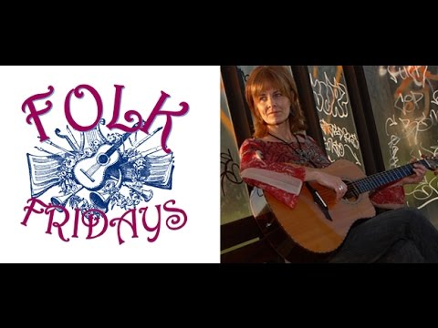 Folk Fridays at Hartford Public Library - Donna Martin