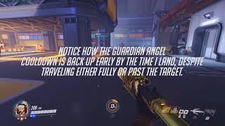 "(old) reworked mercy trick: ""slingshot"" guardian angel (angel bouncing)"