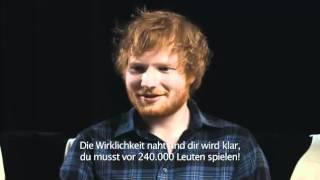 Ed Sheeran Jumpers for Goalposts Trailer