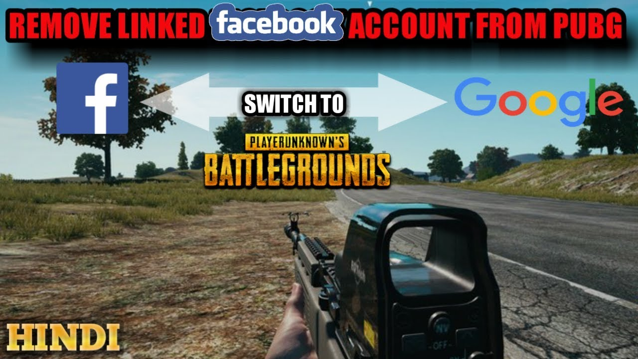 How To Unlink Remove Facebook Account From Pubg Mobile Hindi