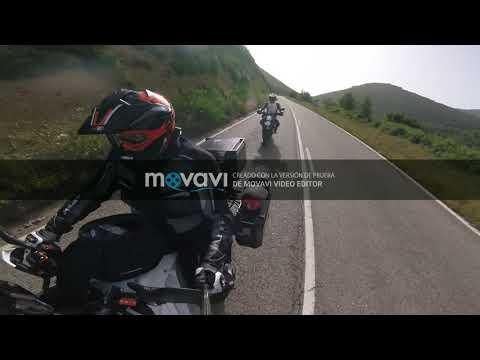 viaje por asturias ktm superadv y ktm  supermotard