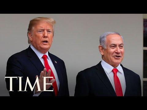 President Trump Delivers Remarks With Israeli Prime Minister Benjamin Netanyahu | TIME