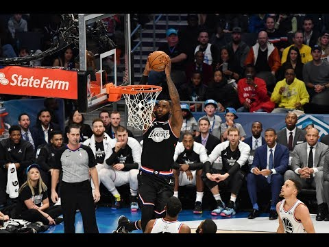 Kyrie Irving Throws Alley-Oop To LeBron James In 2019 All-Star Game | All-Star Weekend