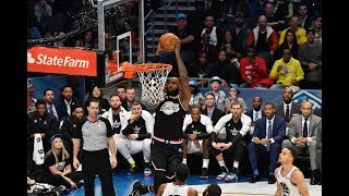 Kyrie Irving Throws Alley-Oop To LeBron James In 2019 All-Star Game   All-Star Weekend