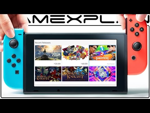 Nintendo Switch Day 1 Update is Out! eShop & Friend List Tour (Version 2.0)