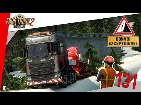 🚚 Euro Truck Simulator 2 | #131 Convoi hardcore ! 😱