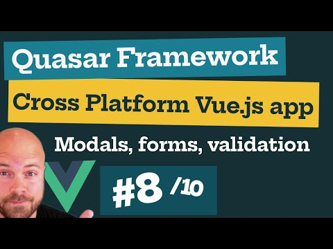 Quasar Framework V1 Course Preview (8/10): Modals, Forms & Validation - Add Task thumbnail
