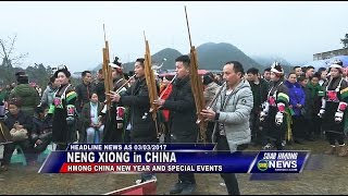 SUAB HMONG NEWS:  Neng Xiong in China at Kaili and the surrounding areas for Miao New Year 2017