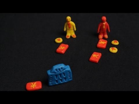 China's Banking System in Claymation