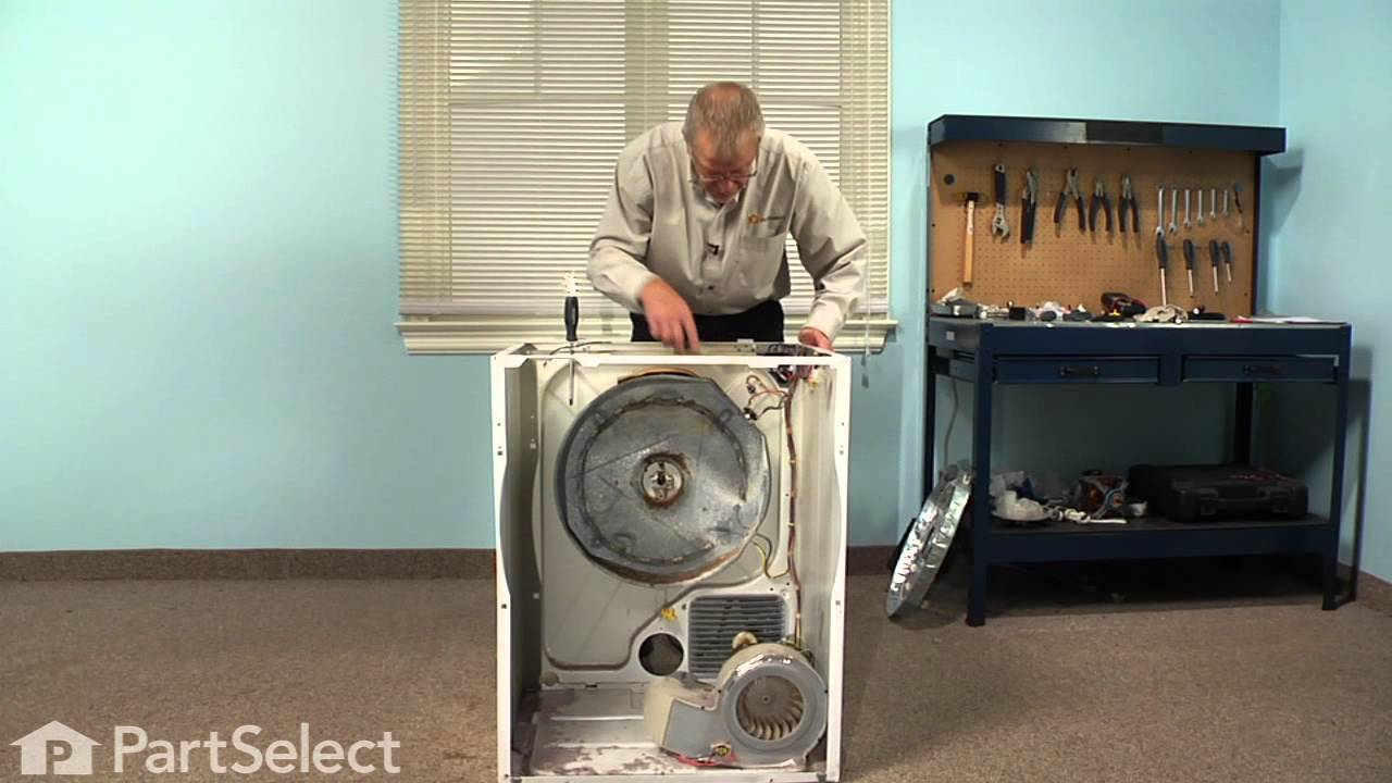 Gibson Dryer Wiring Diagram Repair Replacing The Heating Element Assembly Frigidaire Part 131553900 Youtube