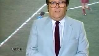 Napoli - Roma 1-1, serie A 1985-86, 90° minuto, Luigi Necco