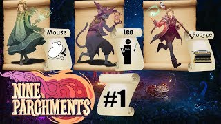 Nine Parchments Coop with Rotype & Mousegunner #01 Sand in our shoes