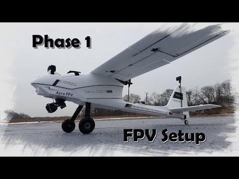 Phase 1 FPV Setup - 1980mm Ranger EX / Quanum Observer