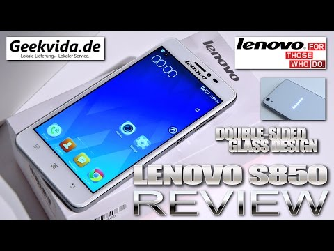 """Lenovo S850 [REVIEW] 5"""" HD IPS Gorilla Glass 3, Double Sided Glass, Notification Logo, MTK6582"""