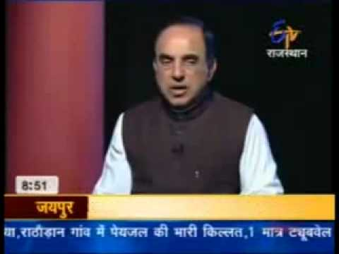 Dr Subramaniam Swamy explains why FDI in Retail is a loss for India