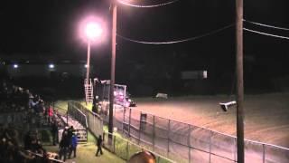Heart O� Texas Speedway Sprint Car Wreck