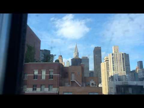 Chrysler building time lapse