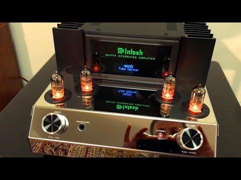 NEW McIntosh MA 252 Hybrid Amp - Tube warmup & First listening!