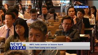 NBTC holds seminar on lessons learnt from Tham Luang cave rescue