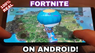 Fortnite Android Gameplay Footage 2018 - Real Fortnite Android No Verification 2018 (DESCRIPTION)