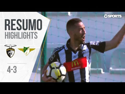 Portimonense 4-3 Moreirense (Liga 28ª J): Resumo