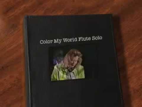 Cover Color My World Flute Solo