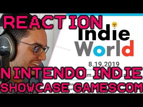 Nintendo Indie Showcase Reaction | Gamescom 2019
