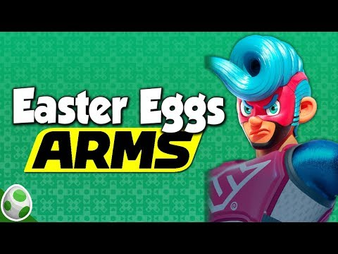Easter Eggs in ARMS on Nintendo Switch - DPadGamer