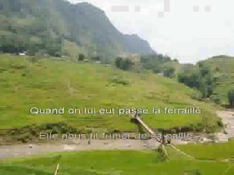 Fille du coupeur de joints la   Hubert Felix Thiefaine [karaoke]