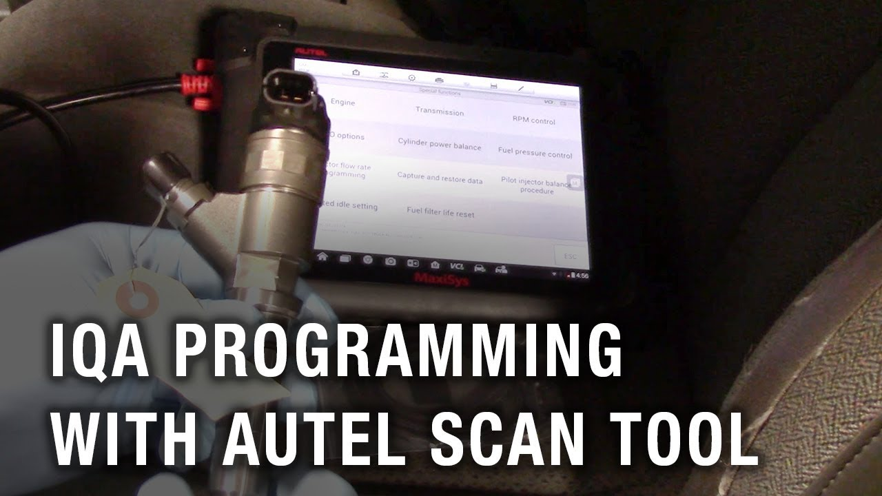 Duramax Flow Rate Injector Quantity Adjustment Programming With 2003 Chevy Fuel Filter Autel Scan Tool