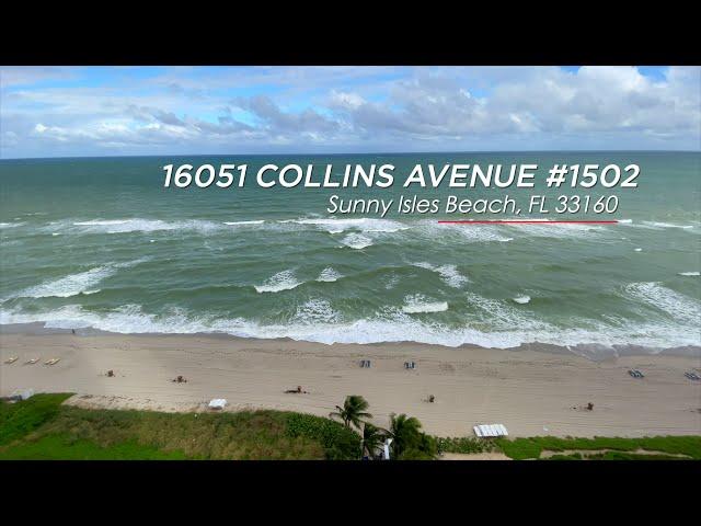 Turnberry Ocean Colony unit 1502:  C'est Magnifique