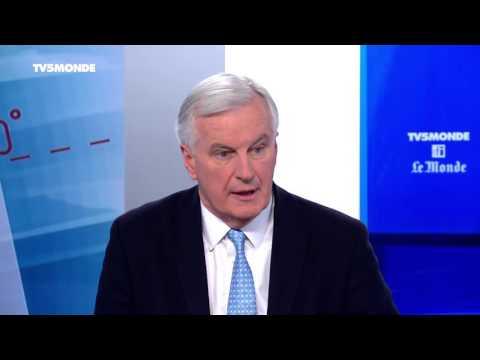 """Michel Barnier sur TV5MONDE : L'Europe vit """"une addition de crises"""" sans précédent"""