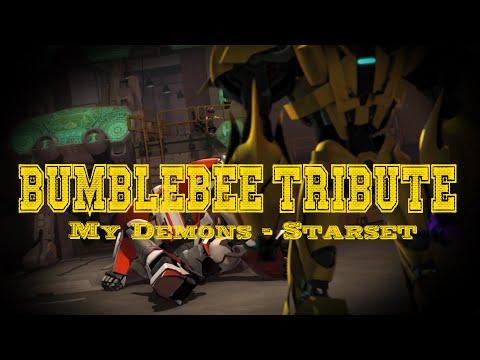 Arcee Motorbike Presents~ Bumblebee Tribute~ My Demons By Starset