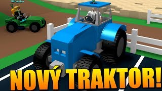 I HAVE a NEW GIANT TRACTOR! 🔥😍 Roblox Farming Simulator