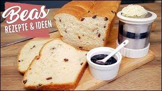 Rosinenstuten Rezept | STUTEN backen - Frühstück oder Brunch