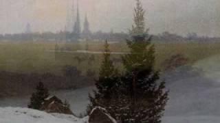 Johannes Brahms, How Lovely is Thy Dwelling Place, Caspar David Friedrich