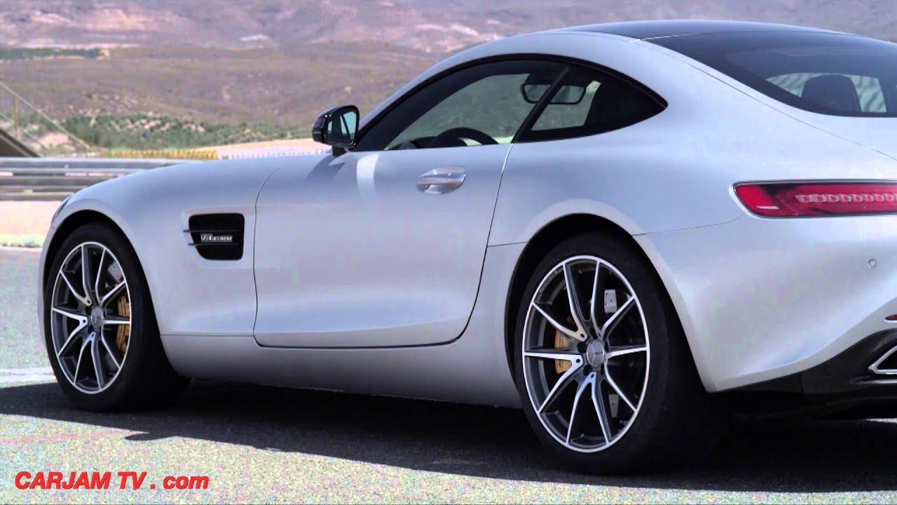 mercedes amg gts race mode accelerating off the line great engine sound carjam tv 2015 youtube. Black Bedroom Furniture Sets. Home Design Ideas