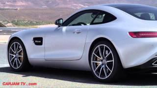 Mercedes AMG GTS Race Mode Accelerating Off The Line Great Engine Sound CARJAM TV 2015
