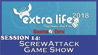 RT Extra Life 2018 - ScrewAttack Game Show