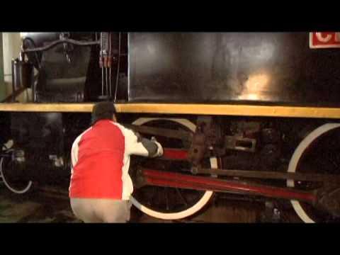 臺鐵 CK101 蒸汽機車 維修試車紀錄 七堵-侯硐 01 - YouTube
