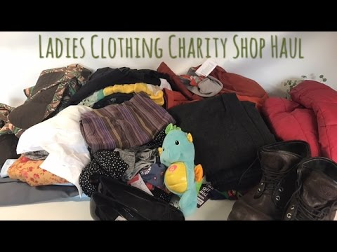 Ladies Clothing Haul to sell for Profit on eBay.