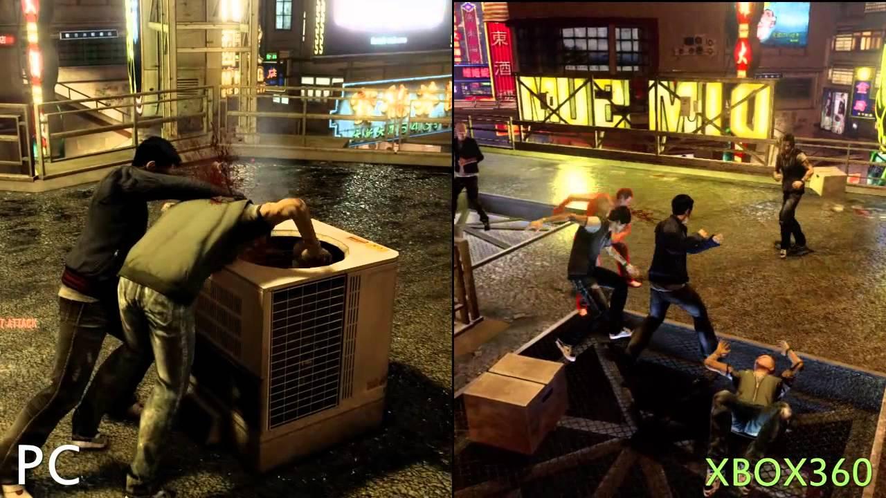 Sleeping Dogs - Graphics Comparison PC vs XBOX 360 - YouTube