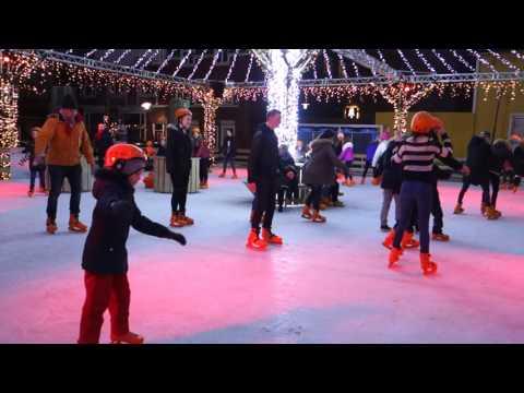 Ice Skating in Reykjavik